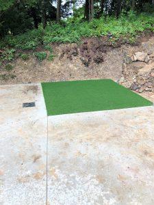 Concrete Pee Pad